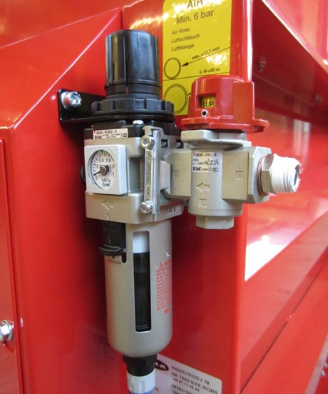 Option - Shut Of Valve for PALOMAT® pallet magazine