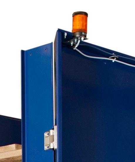 Option - Lichtmast inkl. Max-Melder für Palettenmagazin PALOMAT®